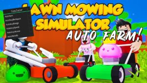 Lawn Mowing Simulator СКРИПТ