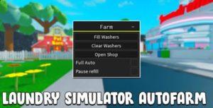Скрипт на игру Laundry Simulator в Роблокс