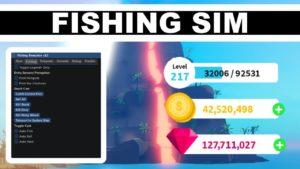 Скрипт на Fishing Simulator Roblox