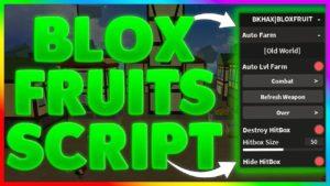 blox fruits скрипт