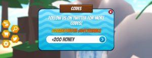 куда вводить коды на режим Bee Simulator